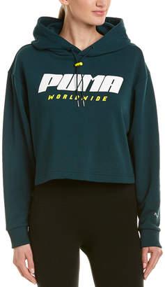 967012b33433 Puma Green Women s Athletic Tops - ShopStyle