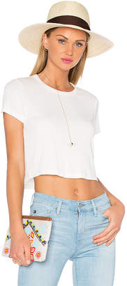 Privacy Please Linton Tee in Ivory $78 thestylecure.com