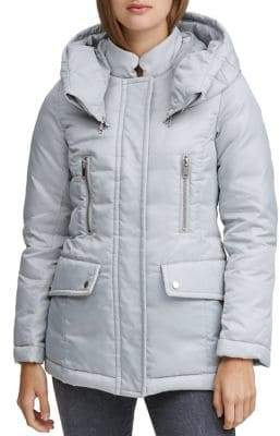 Andrew Marc Hollis Hooded Puffer Jacket