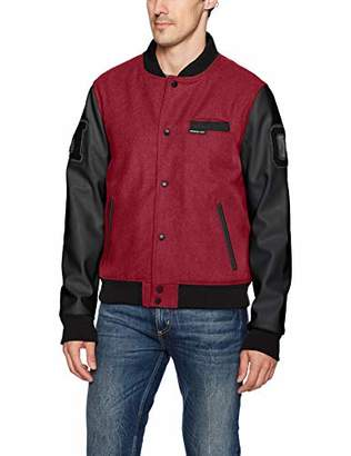 Members Only Men's Varsity Jacket
