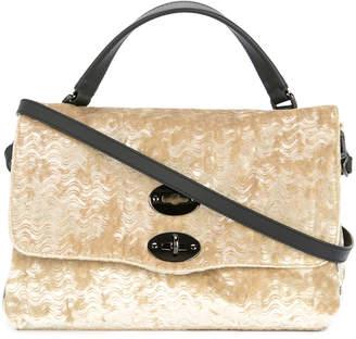 Zanellato textured stud shoulder bag