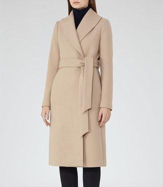 Cody Longline Wrap Coat $620 thestylecure.com