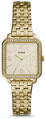 Fossil Shiloh Three-Hand Gold-Tone Stainless Steel Watch