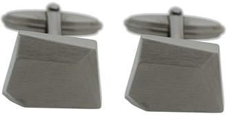 Lanvin stone shaped cufflinks