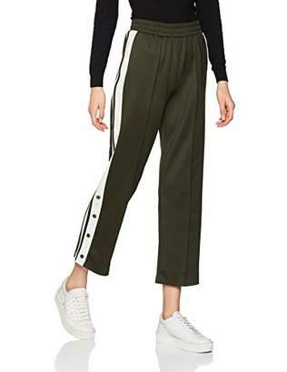 New Look Women's Shiny Popper Trousers,(Size:18)