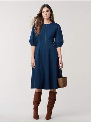 Diane von Furstenberg Thea A-Line Midi Dress