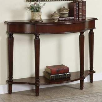 Powell Masterpiece Console Table, Warm Cherry