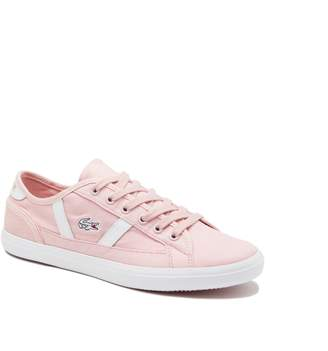Lacoste Women's Sideline Canvas and Leather Sneakers