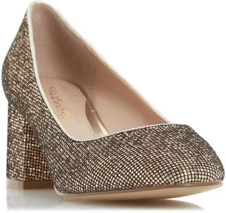 Head Over Heels AGNITHA - Round Toe Block Heel Court Shoe