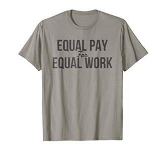 Gap Equal Pay for Equal Work Gender Pay T Shirt