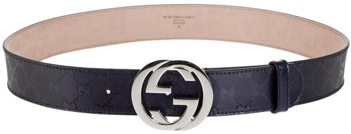 GUCCI - Monogram belt
