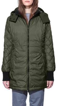 Canada Goose Stellarton Slim Fit Down Coat