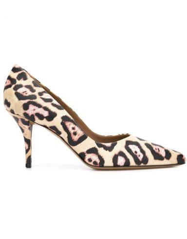 Givenchy Leopard Print Pumps - Nude Neutrals - Size 41EU - Givenchy