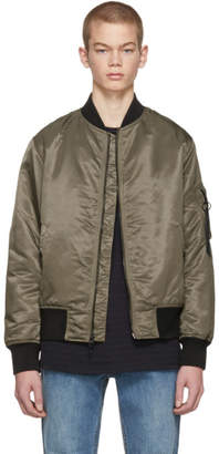 Rag & Bone Brown Manston Bomber Jacket