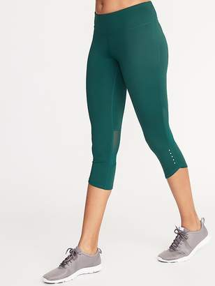 33486738ba038 Old Navy Mid-Rise Elevate Compression Run Crops for Women