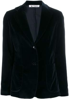 Barena Gid velour button blazer