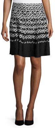 NIC+ZOE Geo Chic Twirl Skirt $158 thestylecure.com
