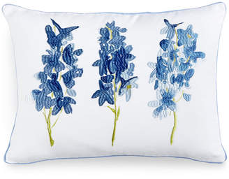 """bluebellgray Skye 12"""" x 16"""" Embroidered Decorative Pillow Bedding"""