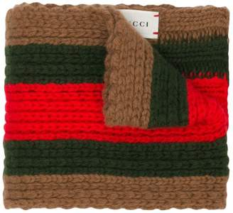 Gucci Kids chunky colour block scarf