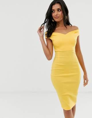 Bardot Vesper bodycon midi dress