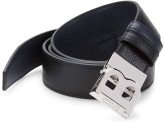 Bally B Buckle Leather Belt