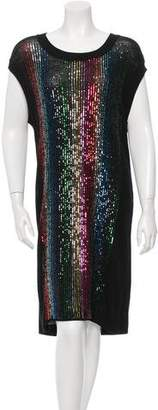 Sonia Rykiel Sequin-Embellished Sweater Dress w/ Tags