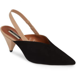 Topshop Slingback Pointy Toe Pump
