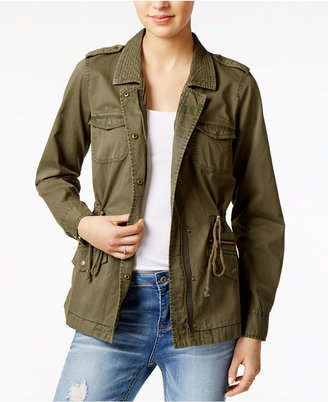 Maison Jules Cotton Utility Jacket, Only at Macy's $89.50 thestylecure.com