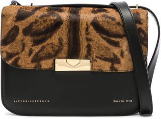 Victoria Beckham Leather & Calf Hair Eva Bag