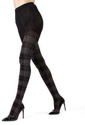 Me Moi MeMoi Scottish Plaid Tartan Sweater Tights