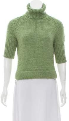 Paul Smith Short Sleeve Turtleneck Sweater