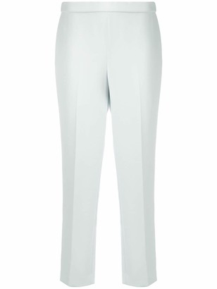 Theory slim-fit cropped trousers
