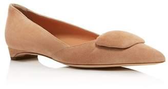 680be808b Rupert Sanderson Women's Suede Pointed Toe Flats