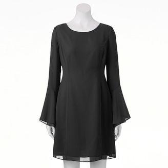 Women's Jennifer Lopez Ruffle Shift Dress $64 thestylecure.com