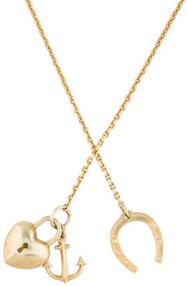 Giles & Brother Heart & Horseshoe Necklace $75 thestylecure.com