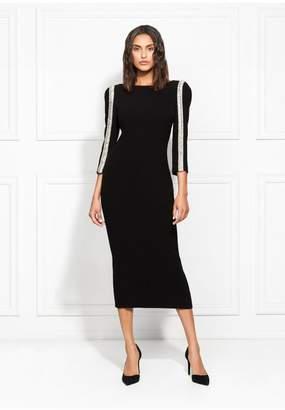 Rachel Zoe Exclusive Dayle Embellished Stretch Crepe Midi Dress