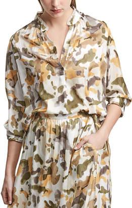 Zadig & Voltaire Tink Camouflage Top