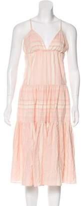 Mara Hoffman Sleeveless Midi Dress w/ Tags