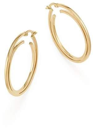 Bloomingdale's 14K Yellow Gold Double Hoop Earrings - 100% Exclusive