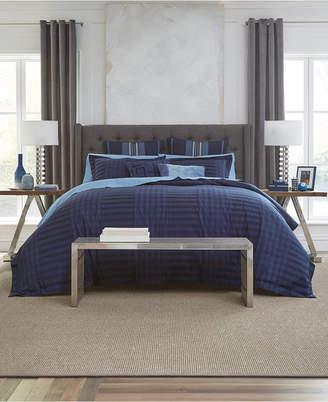 Tommy Hilfiger Ashcolt Reversible 3-Pc. Stripe King Comforter Set Bedding