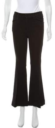 Stella McCartney Mid-Rise Wide-Leg Jeans