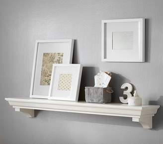 Pottery Barn Kids Classic 2 ft Shelf, Simply White