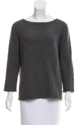 The Row Cashmere Scoop Neck Sweater
