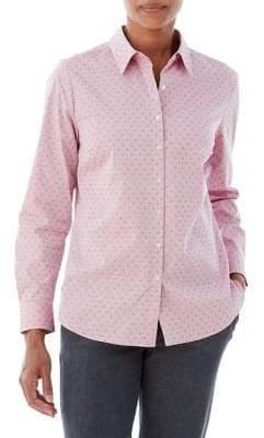 Olsen Dobbie Dot Print Shirt