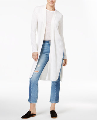 Free People Ribby Rib Maxi Cardigan $78 thestylecure.com