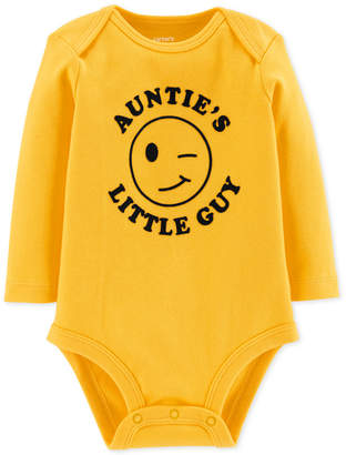 Carter's Baby Boys Auntie's Little Guy Cotton Bodysuit