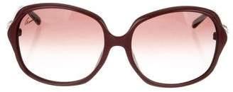 Gucci Bamboo Square Sunglasses