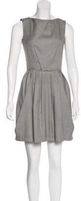 Christian Dior Houndstooth Mini Dress