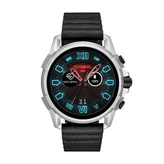 Diesel Mens ON Full Guard 2.5 Touchscreen Smartwatch Stainless Steel Silicone Band