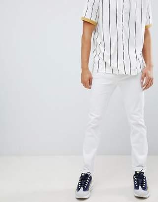 Bershka Skinny Jeans In White